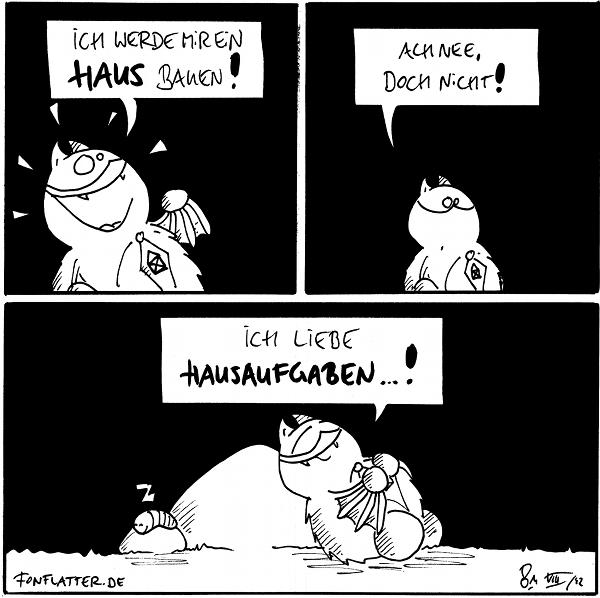 Haus bauen comic  August « 2012 « fledermaus fürst frederick fon flatter